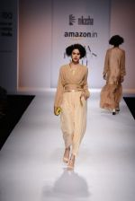 Model walk the ramp for Nikasha on day 1 of Amazon India Fashion Week on 25th March 2015 (20)_5513d1ea13f0f.JPG