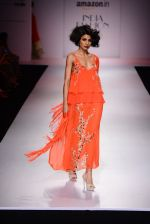 Model walk the ramp for Nikasha on day 1 of Amazon India Fashion Week on 25th March 2015 (79)_5513d2c29ed7b.JPG