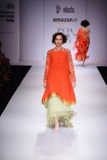 Model walk the ramp for Nikasha on day 1 of Amazon India Fashion Week on 25th March 2015 (83)_5513d2c84e090.JPG