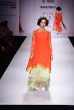 Model walk the ramp for Nikasha on day 1 of Amazon India Fashion Week on 25th March 2015 (85)_5513d2cb8f776.JPG