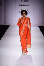 Model walk the ramp for Nikasha on day 1 of Amazon India Fashion Week on 25th March 2015 (93)_5513d2d939451.JPG