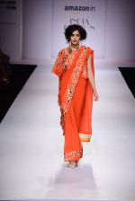 Model walk the ramp for Nikasha on day 1 of Amazon India Fashion Week on 25th March 2015 (94)_5513d2da72639.JPG