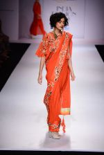 Model walk the ramp for Nikasha on day 1 of Amazon India Fashion Week on 25th March 2015 (95)_5513d2dc74c99.JPG