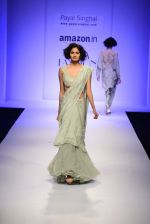 Model walk the ramp for Payal Singhal on day 1 of Amazon India Fashion Week on 25th March 2015 (177)_5513d55ea8441.JPG