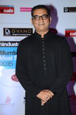 Abhijeet Bhattacharya at HT Mumbai_s Most Stylish Awards 2015 in Mumbai on 26th March 2015(1671)_55153fbdb03eb.JPG