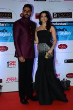 Abhishek Bachchan, Aishwarya Rai Bachchan at HT Mumbai_s Most Stylish Awards 2015 in Mumbai on 26th March 2015 (1114)_55154275574ba.JPG