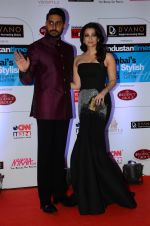 Abhishek Bachchan, Aishwarya Rai Bachchan at HT Mumbai_s Most Stylish Awards 2015 in Mumbai on 26th March 2015 (1116)_55154276b8347.JPG