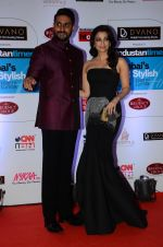 Abhishek Bachchan, Aishwarya Rai Bachchan at HT Mumbai_s Most Stylish Awards 2015 in Mumbai on 26th March 2015 (1118)_5515427839cfc.JPG