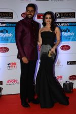 Abhishek Bachchan, Aishwarya Rai Bachchan at HT Mumbai_s Most Stylish Awards 2015 in Mumbai on 26th March 2015 (1120)_55154378e32bd.JPG