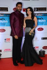 Abhishek Bachchan, Aishwarya Rai Bachchan at HT Mumbai_s Most Stylish Awards 2015 in Mumbai on 26th March 2015 (1122)_5515437a5072a.JPG
