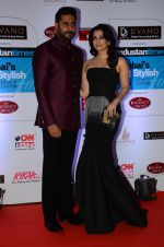 Abhishek Bachchan, Aishwarya Rai Bachchan at HT Mumbai_s Most Stylish Awards 2015 in Mumbai on 26th March 2015 (1123)_5515437bc9aab.JPG