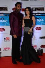 Abhishek Bachchan, Aishwarya Rai Bachchan at HT Mumbai_s Most Stylish Awards 2015 in Mumbai on 26th March 2015 (1124)_5515427c6823e.JPG