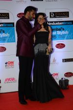 Abhishek Bachchan, Aishwarya Rai Bachchan at HT Mumbai_s Most Stylish Awards 2015 in Mumbai on 26th March 2015 (1136)_5515428333969.JPG