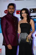 Abhishek Bachchan, Aishwarya Rai Bachchan at HT Mumbai_s Most Stylish Awards 2015 in Mumbai on 26th March 2015 (1141)_55154388a902b.JPG