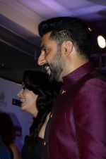 Abhishek Bachchan, Aishwarya Rai Bachchan at HT Mumbai_s Most Stylish Awards 2015 in Mumbai on 26th March 2015 (1223)_551542916bbc3.JPG