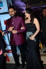 Abhishek Bachchan, Aishwarya Rai Bachchan at HT Mumbai_s Most Stylish Awards 2015 in Mumbai on 26th March 2015 (1626)_5515439829c95.JPG