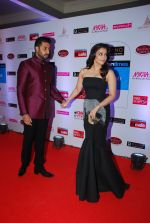 Abhishek Bachchan, Aishwarya Rai Bachchan at HT Mumbai_s Most Stylish Awards 2015 in Mumbai on 26th March 2015 (410)_55154265046be.JPG