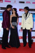 Abhishek Bachchan, Aishwarya Rai Bachchan, Amitabh Bachchan at HT Mumbai_s Most Stylish Awards 2015 in Mumbai on 26th March 2015 (1161)_551544724d752.JPG