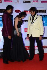 Abhishek Bachchan, Aishwarya Rai Bachchan, Amitabh Bachchan at HT Mumbai_s Most Stylish Awards 2015 in Mumbai on 26th March 2015 (1172)_551544763caf9.JPG