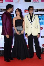 Abhishek Bachchan, Aishwarya Rai Bachchan, Amitabh Bachchan at HT Mumbai_s Most Stylish Awards 2015 in Mumbai on 26th March 2015 (1173)_551543a4942cf.JPG