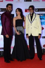 Abhishek Bachchan, Aishwarya Rai Bachchan, Amitabh Bachchan at HT Mumbai_s Most Stylish Awards 2015 in Mumbai on 26th March 2015 (1178)_551544781b6e5.JPG