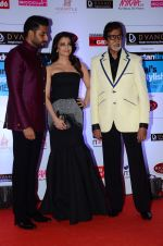 Abhishek Bachchan, Aishwarya Rai Bachchan, Amitabh Bachchan at HT Mumbai_s Most Stylish Awards 2015 in Mumbai on 26th March 2015 (1185)_551543aaacacf.JPG