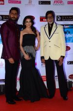 Abhishek Bachchan, Aishwarya Rai Bachchan, Amitabh Bachchan at HT Mumbai_s Most Stylish Awards 2015 in Mumbai on 26th March 2015 (1194)_551543aea6614.JPG