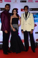 Abhishek Bachchan, Aishwarya Rai Bachchan, Amitabh Bachchan at HT Mumbai_s Most Stylish Awards 2015 in Mumbai on 26th March 2015 (1195)_551542ac932d6.JPG