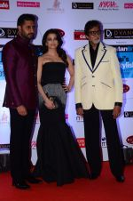 Abhishek Bachchan, Aishwarya Rai Bachchan, Amitabh Bachchan at HT Mumbai_s Most Stylish Awards 2015 in Mumbai on 26th March 2015 (1197)_551543b035914.JPG