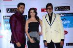 Abhishek Bachchan, Aishwarya Rai Bachchan, Amitabh Bachchan at HT Mumbai_s Most Stylish Awards 2015 in Mumbai on 26th March 2015 (1200)_551543b1e300e.JPG