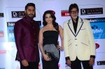 Abhishek Bachchan, Aishwarya Rai Bachchan, Amitabh Bachchan at HT Mumbai_s Most Stylish Awards 2015 in Mumbai on 26th March 2015 (1204)_551542b103f56.JPG