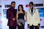 Abhishek Bachchan, Aishwarya Rai Bachchan, Amitabh Bachchan at HT Mumbai_s Most Stylish Awards 2015 in Mumbai on 26th March 2015 (1209)_5515448370f5d.JPG