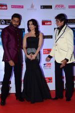 Abhishek Bachchan, Aishwarya Rai Bachchan, Amitabh Bachchan at HT Mumbai_s Most Stylish Awards 2015 in Mumbai on 26th March 2015 (1212)_551543b6855c3.JPG