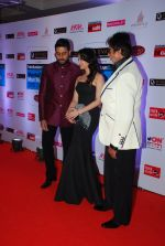 Abhishek Bachchan, Aishwarya Rai Bachchan, Amitabh Bachchan at HT Mumbai_s Most Stylish Awards 2015 in Mumbai on 26th March 2015 (411)_5515446f501c1.JPG