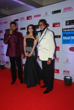 Abhishek Bachchan, Aishwarya Rai Bachchan, Amitabh Bachchan at HT Mumbai_s Most Stylish Awards 2015 in Mumbai on 26th March 2015 (412)_5515439b0843f.JPG
