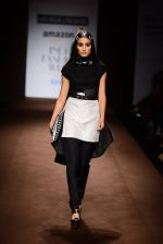 Model walk the ramp for Abraham Thakore on day 2 of Amazon India Fashion Week on 26th March 2015 (122)_55152812e6909.JPG