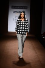 Model walk the ramp for Abraham Thakore on day 2 of Amazon India Fashion Week on 26th March 2015 (15)_551526ec631e8.JPG