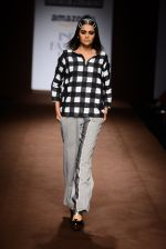Model walk the ramp for Abraham Thakore on day 2 of Amazon India Fashion Week on 26th March 2015 (16)_551526ee839fb.JPG