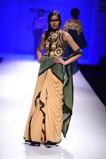 Model walk the ramp for Malini Ramani on day 2 of Amazon India Fashion Week on 26th March 2015 (321)_55152e292daba.JPG
