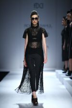 Model walk the ramp for Rohit & Rahul Gandhi on day 2 of Amazon India Fashion Week on 26th March 2015 (161)_55152e618bb54.JPG