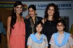 Nathalia Kaur, Natasha Stankovic, Himarsha Venkatsamy at SPJ Sadhana School for a noble cause on 26th March 2015 (296)_55152d128913a.JPG
