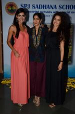 Nathalia Kaur, Natasha Stankovic, Himarsha Venkatsamy at SPJ Sadhana School for a noble cause on 26th March 2015 (286)_551528305ee7b.JPG