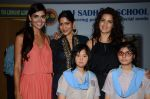 Nathalia Kaur, Natasha Stankovic, Himarsha Venkatsamy at SPJ Sadhana School for a noble cause on 26th March 2015 (298)_5515283c143bf.JPG