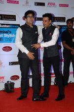 Parsoon Joshi, Manoj Bajpai at HT Mumbai_s Most Stylish Awards 2015 in Mumbai on 26th March 2015(1737)_5515416e2bf85.JPG