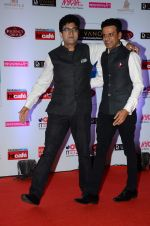 Parsoon Joshi, Manoj Bajpai at HT Mumbai_s Most Stylish Awards 2015 in Mumbai on 26th March 2015(1739)_551541710048f.JPG