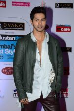 Varun Dhawan at HT Mumbai_s Most Stylish Awards 2015 in Mumbai on 26th March 2015(1596)_551540aeb9eb6.JPG