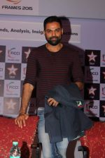 Abhay Deol at FICCI FRAMES - Day 3 in Mumbai on 27th March 2015 (65)_5516a1fb09251.JPG