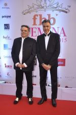Abu Jani, Sandeep Khosla at Femina Miss India finals red carpet in Yashraj Studios on 28th March 2015 (69)_55180abcb54b3.JPG