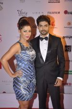Gurmeet Chaudhary, Debina Banerjee at Femina Miss India finals red carpet in Yashraj Studios on 28th March 2015 (396)_55180b9a5e6e4.JPG