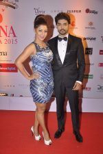 Gurmeet Chaudhary, Debina Banerjee at Femina Miss India finals red carpet in Yashraj Studios on 28th March 2015 (398)_55180b9c4267b.JPG